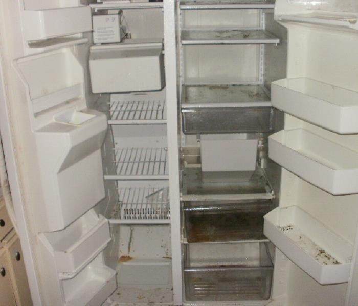 Refrigerator Cleaning for an Apartment Manager Before