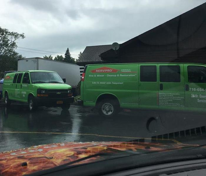 Fire Damage SERVPRO of Amherst/Clarence Responds to a Restaurant Fire